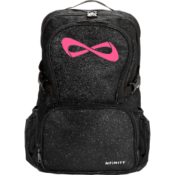 Nfinity® Sparkle Backpack (Black/Pink)