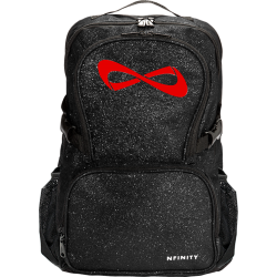 Nfinity® Sparkle Backpack (Black/Red)