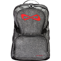 Nfinity® Sparkle Backpack (Grey/Red)