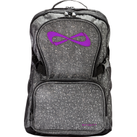 Nfinity® Sparkle Backpack (Grey/Violet)