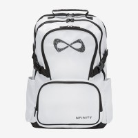 Nfinity® Princess White with Rhinestone Logo