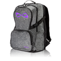 Nfinity® Sparkle Back Pack Grey / Violet Blank