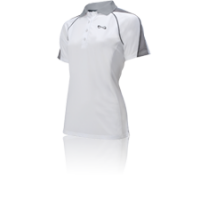Nfinity® Women's Polo (WHITE/GREY)